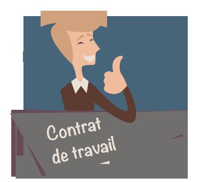 formation contrat de travail